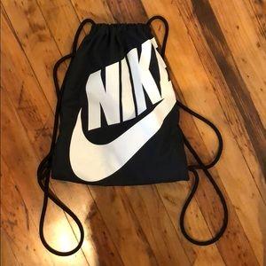 Nike Draw String Backpack - Black